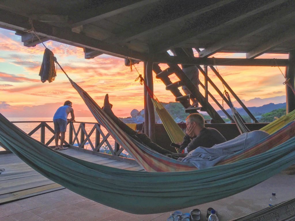 tayrona national park hammock