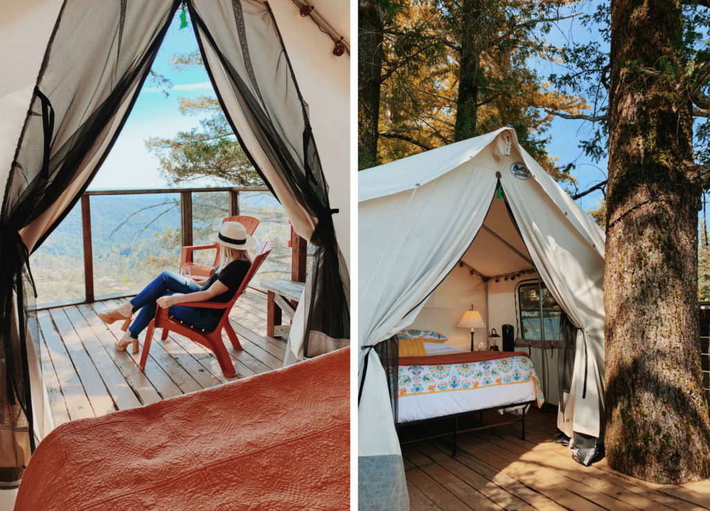 Treehouse Airbnb in California | Glamping in a Northern