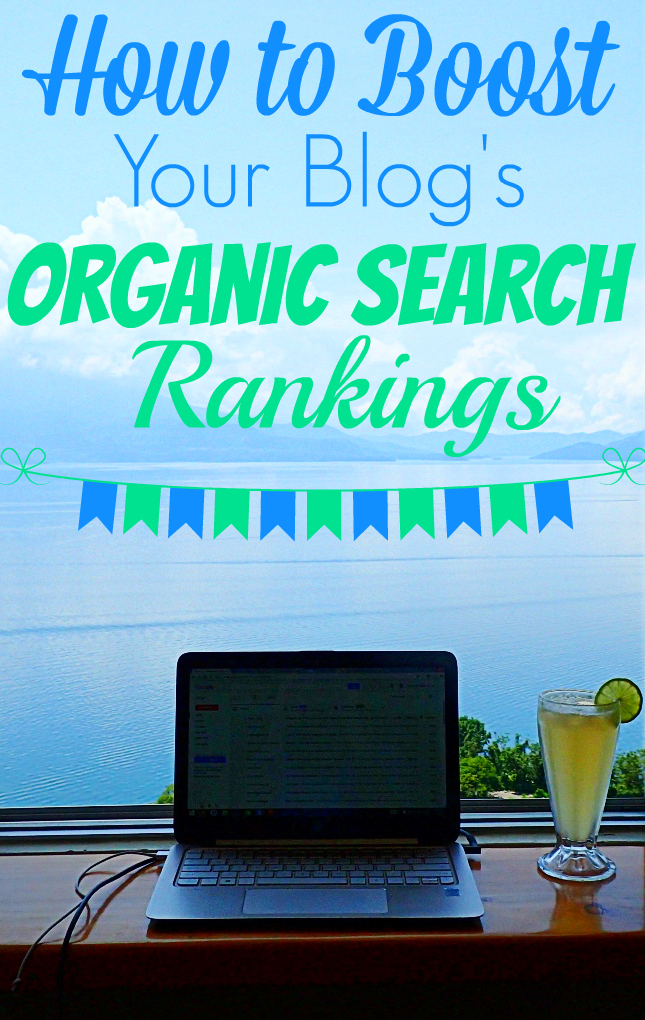 How to Boost Your Blog's Organic Search Rankings