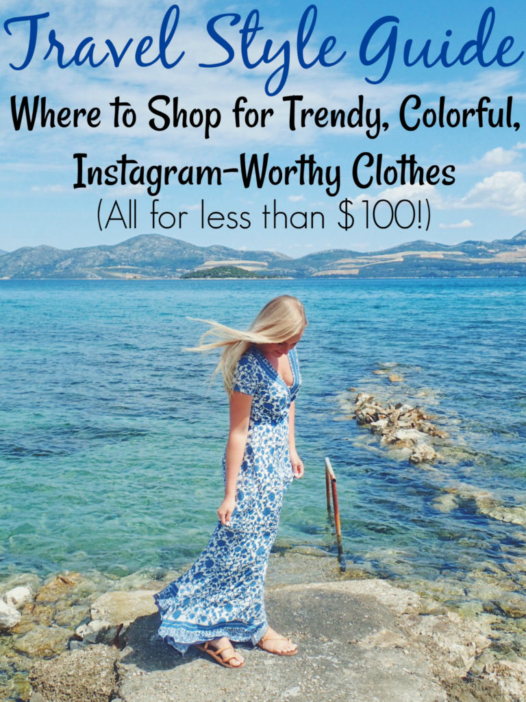 Travel Style Guide Where to Find Cute, Affordable Travel Outfits