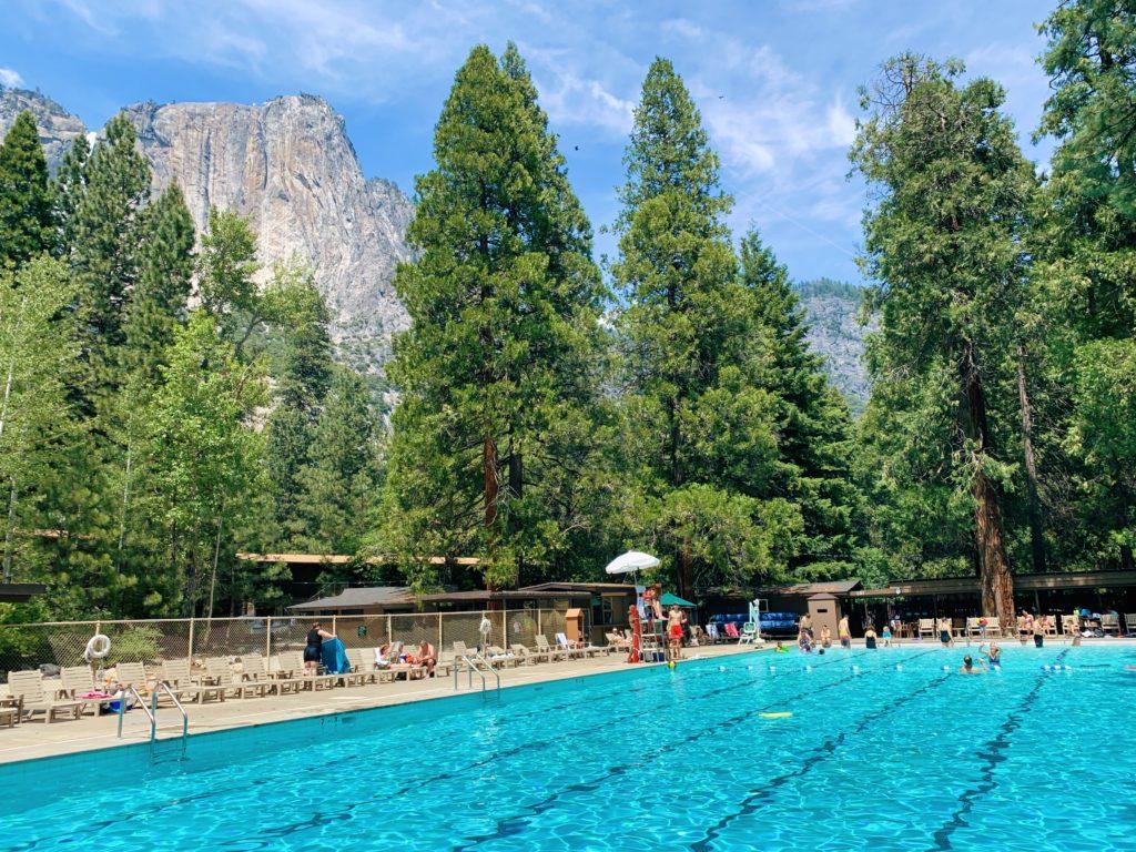 Yosemite Valley Lodge Pool